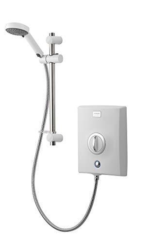 Aqualisa QZE8521 Quartz Electric shower with adjustable head, White, 8.5kW
