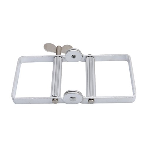 HS 1PC Aluminum Tube Squeezer Tool Metal Tube Wringer with Handle