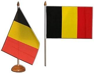 Tafelvlag tafelvlag België - 15 x 22 cm