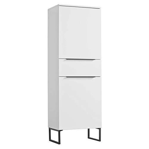 mokebo® Highboard 'Der Vertikale', minimalistischer Vitrinenschrank & Kommode, Made in Germany | 60x177x41 (B/H/T in cm)