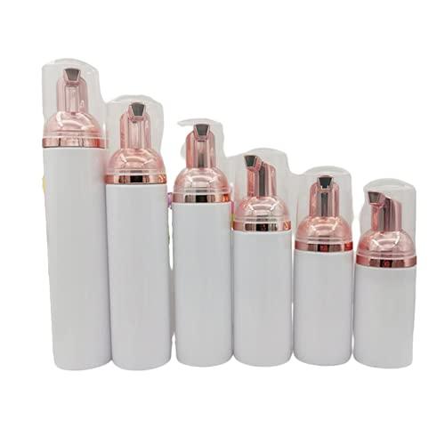 10 pz Plastica Foamer Pompa Bottiglia Riutilizzabile Bottiglia Cosmetica Vuota Detergente Dispenser di Sapone Schiuma Contenitore 30/50/60/100 ml