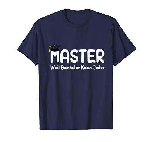 Masterabschluss Akkreditierung Univeristät Hochschule T-Shirt