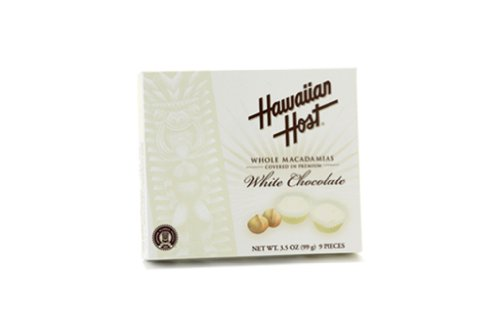 Hawaiian Host Macadamia Nuts White Chocolate 35 oz Gift Box