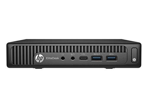 HP EliteDesk 800 65W G2 Business Mini PC Desktop Computer/Intel Quad-Core i5-6500T up to 3.1GHz/ 8GB DDR4 RAM/ 256GB SSD/WiFi/Bluetooth/USB 3.0/ Windows 10 Professional OS(Renewed)