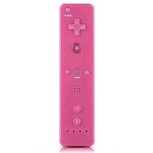Nintendo WiiU/Wii Game Controller, Wii Remote Controller Gamepad Game Handle Controller with Analog Joystick for Nintendo WiiU/Wii Console, Accessible to People of(Pink)