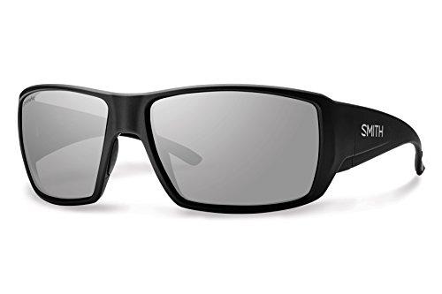 Smith Optics Guides Choice Sunglasses, Black Frame, Polar Blue Mirror Techlite Glass Lenses