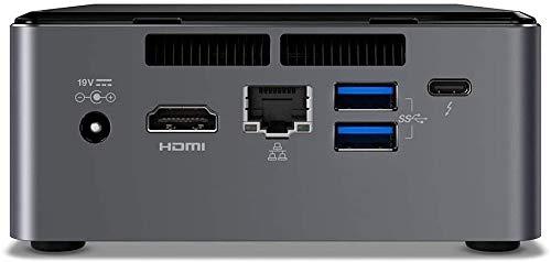 Intel Nuc Mini Komplett PC, Intel Dual Core 2 x 2,70 GHz, 8 GB DDR4 RAM, 256 GB SSD, USB 3.0, HDMI, Intel UHD Grafik, 4K Aufloesung, 3 Jahre Herstellergarantie, Windows 10 Pro