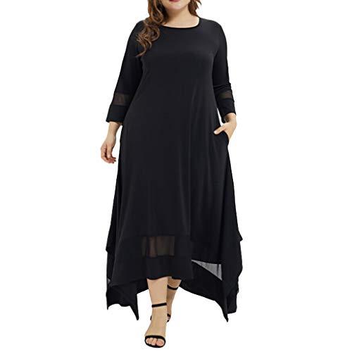 ZEELIY Damen Muslimische Stickerei Langarm Kleid Tunika Abaya Dubai Kleider Maxikleid Abendkleid Muslim Frauen Knöchellang Kleid Hochzeit Kaftan Robe Gewand Islamische Kleidung Burqa …