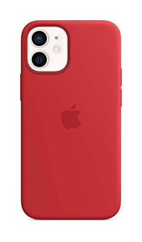 Apple Silikon Case mit MagSafe (für iPhone 12 Mini) - (Product) RED