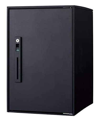 パナソニック 後付け用 宅配ボックス COMBO-LIGHTコンボライト ミドル マットブラック CTNR6020RB
