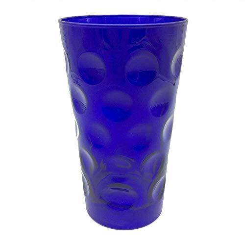 Farbiges Dubbeglas 0,5 L - Blau (ganz gefärbt)