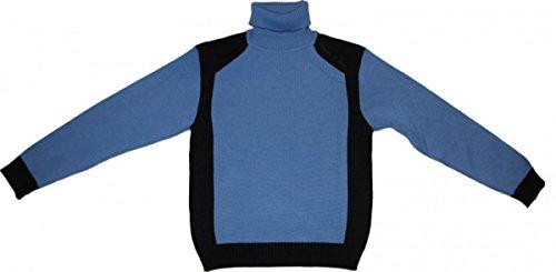 Freeman T. Porter Skatewear Pullover Sley Sky Blue/Navy Sweater, Grösse:S