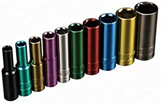 Pittsburgh Professional 10 Piece Color Coded 1/4