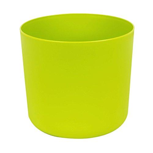 Classique cache-pot en plastique Aruba 20 cm en vert clair couleur