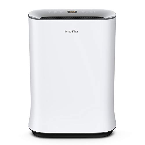 Inofia Air Purifier with True HEPA Air Filter, Wi-Fi Intelligent Control,...