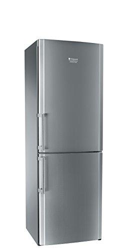 Hotpoint EBIH 18221 F Libera installazione 283L A+ Acciaio inossidabile frigorifero con congelatore