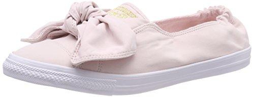 Converse Damen CTAS Knot Slip Slip On Sneaker, Pink (Barely Rose/Barely Rose/White 653), 37.5 EU