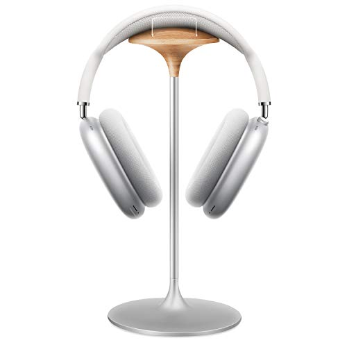 Soporte Auriculares, Soporte de Haya y Aluminio, Stand para Headset de Juego,...