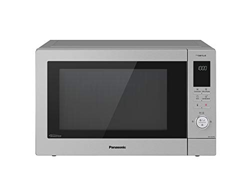 Panasonic NN-CD87KSBPQ Inverter Combination Microwave Oven with Turntable, 34 Litres, Silver