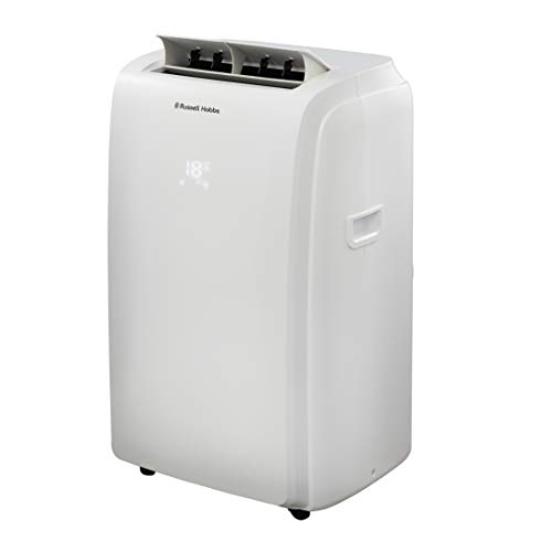 Russell Hobbs 2-in-1 Portable Air Conditioner & Dehumidifier, 960 W, 1 Litre, White, RHPAC4002