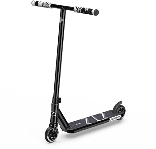 Fuzion Z250 SE Pro Scooters - Trick Scooter - Intermediate and Beginner Stunt Scooters for Kids 8 Years and Up, Teens and Adults – Durable, Smooth, Freestyle Kick Scooter for Boys and Girls (SE Black)