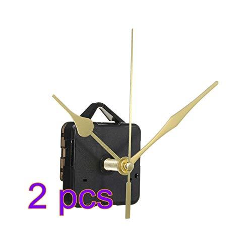 Nero Mudder Meccanismo Movimento Orologio al Quarzo con 170 mm// 6.7 Pollici Lancette Orologio per Fai Da Te Orologio da Parete