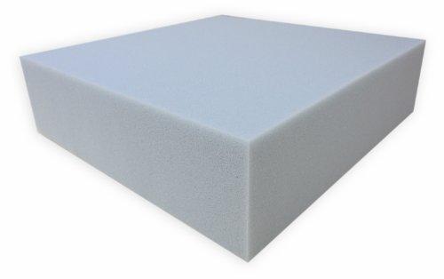 Dibapur 10 st. PUR RG30/40 schuimrubberen bekleding mat, PUR-schuim platen, schuimstofmat, matrasbeschermer, schuim type RG30 ca.100 cm x 200 cm x 3 cm