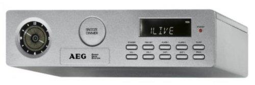 AEG KRC 4338 Küchen-Uhrenradio (Synthesizer-Tuner, RDS, Sleep-Timer)