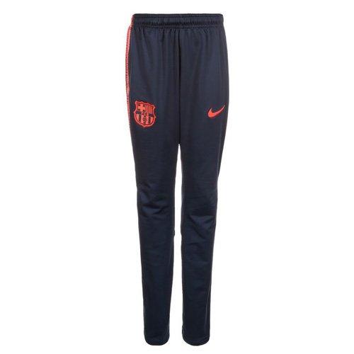 Nike Kinder FCB Y Nk Dry Squad K Fußballhose, Obsidian Blau/Hyper Karmesinrot, M