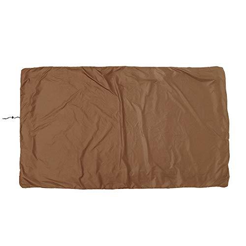 Dengofng - Funda para mesa de billar, impermeable, tela Oxford para billar (245 x 140 x 20 cm), No nulo, marrón, Tamaño libre