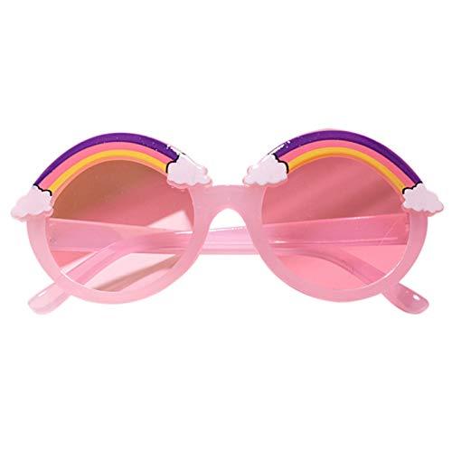 Helmay Gafas de sol infantiles con dibujos animados, ultraligeras, protección UV400, para exteriores