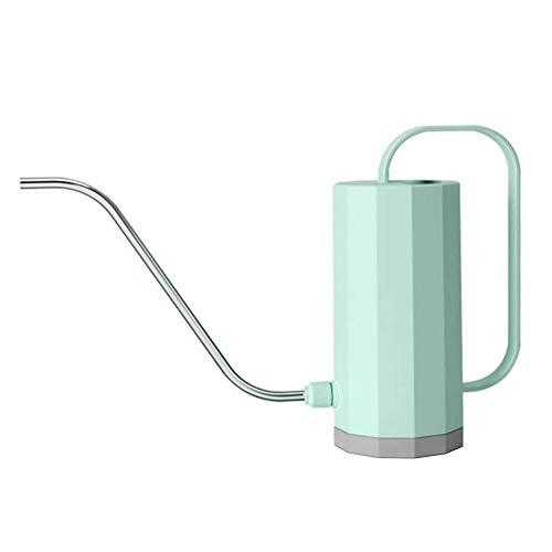 TOPofly Regadera, 1200 ml caño Largo Flor de riego Spray Pot, de plástico Cubierta de riego para Pots suculentas, Flores y Plantas (Verde)