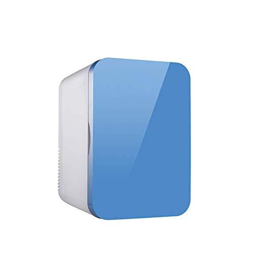 Petit réfrigérateur de voiture / réfrigérateur portable / mini congélateur-8L-55W, refroidissement rapide, économie d'énergie et muet, conversion de refroidissement et de chauffage, double couche, mé