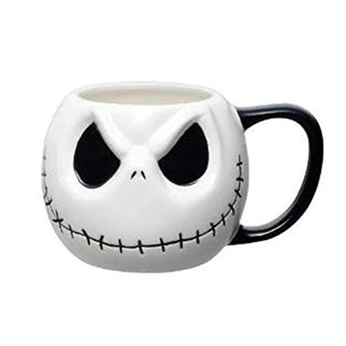 Taza café 500mL / 700mL Taza Antes de Navidad Dibujos Animados café té Taza de Leche Skull Drinkware para niños 500mL-Mug