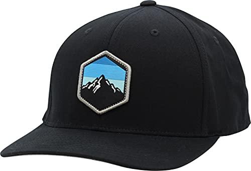 LINDO Flexfit Pro Style Hat - Mountain Sky (Black-s/m)