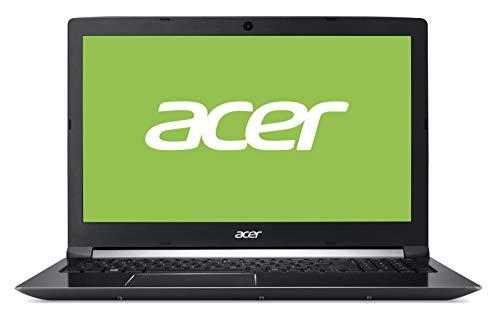 Acer Aspire 7 A715-41G - Portátil 15.6' FullHD (AMD Ryzen 5 3550H, 8GB RAM, 512GB SSD, NVIDIA GTX1650-4GB, Sin Sistema Operativo), Teclado QWERTY Español, Color Negro