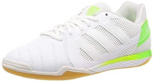 Adidas Top Sala, Zapatillas Deportivas Fútbol Hombre, Blanco FTWR White FTWR White Signal, 45 1/3 EU