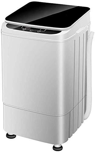 QUZHCP Lavadora portátil, Lavadora Automática Portátil De 4,5 Kg Compacto De Lavandería Lavadora Spin, 4 Programas Selecciones con Panel De Control Inteligente