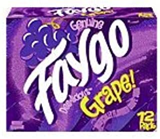 Faygo Soda Grape 12-ounce 12pack cans (pack of 1)
