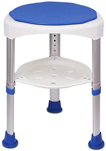 Xingdong - Sedia da bagno girevole a 360 gradi, per vasca da bagno, antiscivolo, per donna incinta, ideale per il bagno, resistente