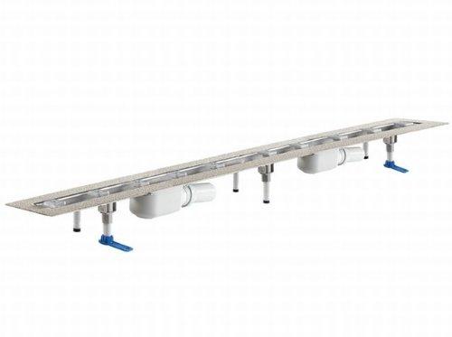 DALLMER douchegoot CeraLine PLAN 2 Afvoeren 521941, F 1200mm, DN 50 Totale hoogte 90mm - 521941