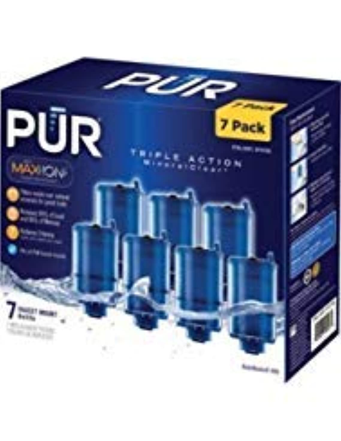PUR RF-9999 MineralClear Faucet Refill, Variety Pack (7-Pack Total)