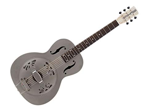 Gretsch Roots Collection G9201 Honey Dipper Round-Neck Resonator Acoustic Guitar, 19 (12 to Body) Frets, Rosewood Fretboard, Medium V Neck, Natural thumbnail image
