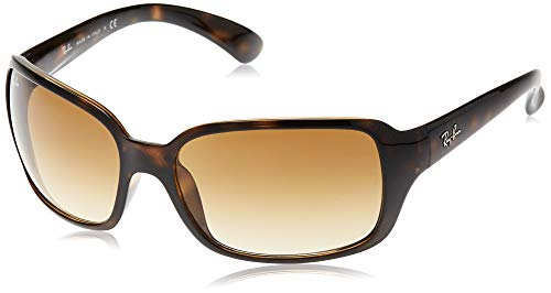 Ray-Ban RB4068 Square Sunglasses, Light Tortoise/Brown Gradient, 60 mm