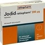 JODID ratiopharm 200 µg Tabletten 100 St -