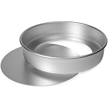 Alan Silverwood Delia Smith Silver Anodised Aluminium Sponge Cake Tin, loose base 7 /18cm 97074