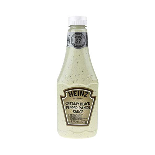 Heinz Creamy Black Pepper Ranch Sauce 875ml
