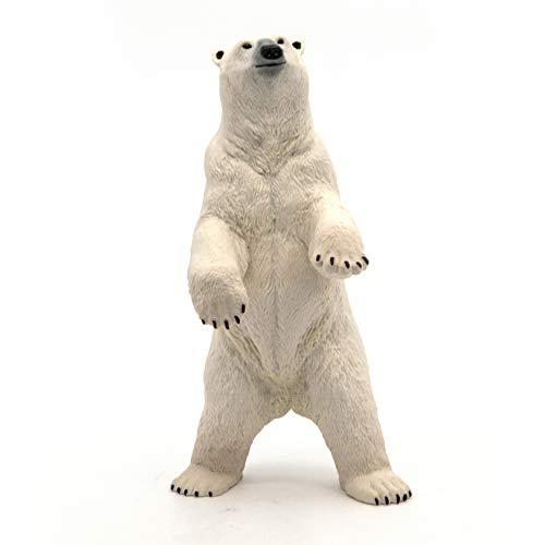 Papo 50172 Standing polar bear WILD ANIMAL KINGDOM Figurine, Multicolour