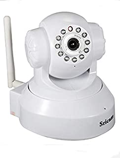 Sricam SP Series Wireless HD IP WiFi CCTV [Watch Live Demo Right Now] Indoor Security Camera (Support Upto 128 GB SD Card)...