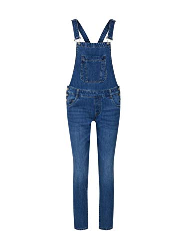 ONLY Damen Latzjeans Kim Witty Blue Denim 40 (L)